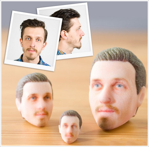 3D Printed Heads – create your very own LEGO head for fun and amusement