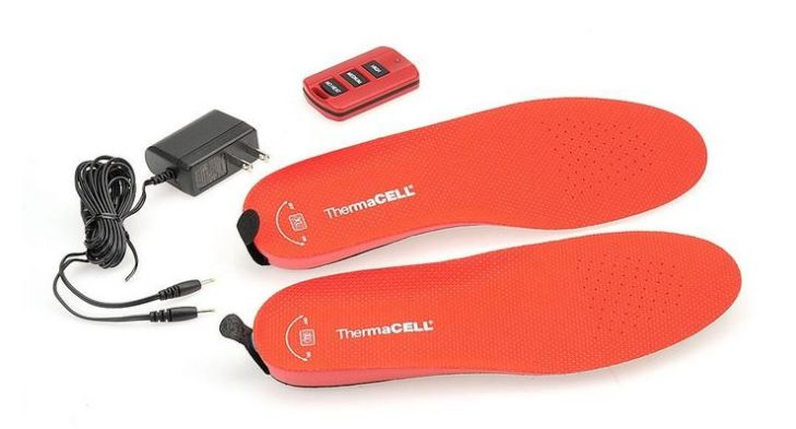 ThermaCell Rechargeable Heated Insoles – happy feet in cold weather and not a penguin in sight