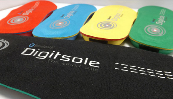 Digitsole – world's first remote toaster insoles keep your feet warm and your heart healthy