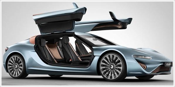 The Incredible Astounding Amazing Mr Nunzio La Vecchia and his Quant 'Salt Water' Powered Supercar
