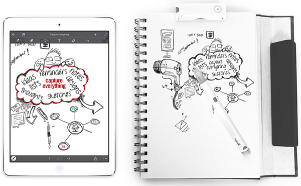 Equil Smartpen 2 – instantly convert your squiggles and notes into digital format