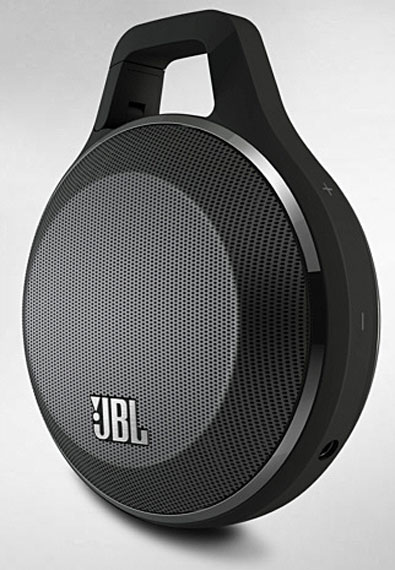 JBL Clip Speaker– clip to your hip and bop to the hop