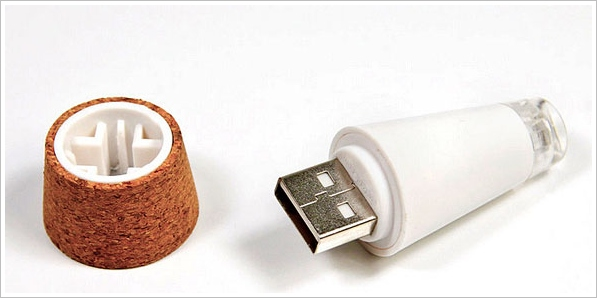 Rechargeable Bottle Light – turn your old empty bottles into romantic lamps