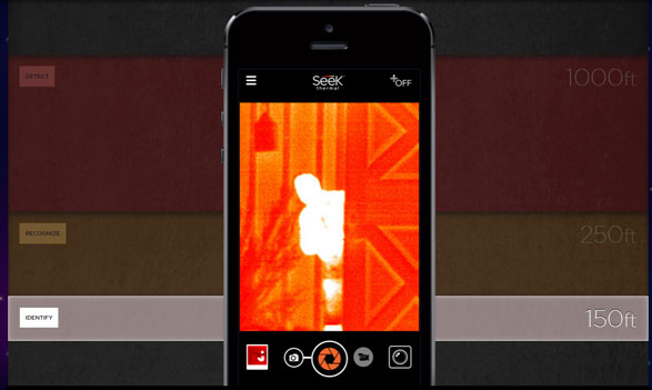 Seek Thermal Camera – turn your smartphone into a thermal imaging device