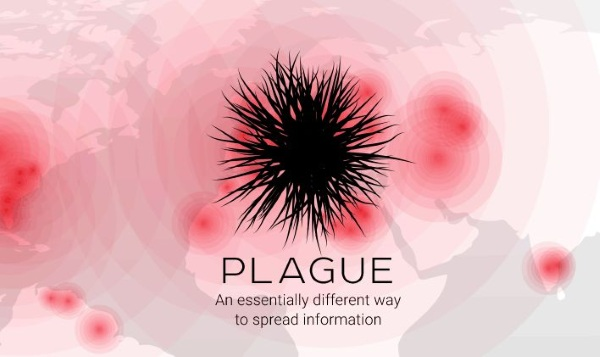 Plague World Map logo
