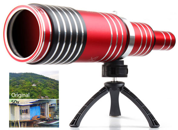 iPhone 6 Super Spy 80x Telescope – now you can spy on your neighbors any time you want