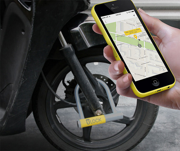 uLock – tough, keyless bike lock aims to stop thieves before they start