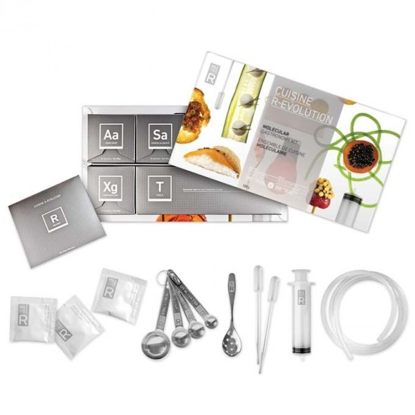 Molecule-R Cuisine R-Evolution Kit – putting the science into cooking science