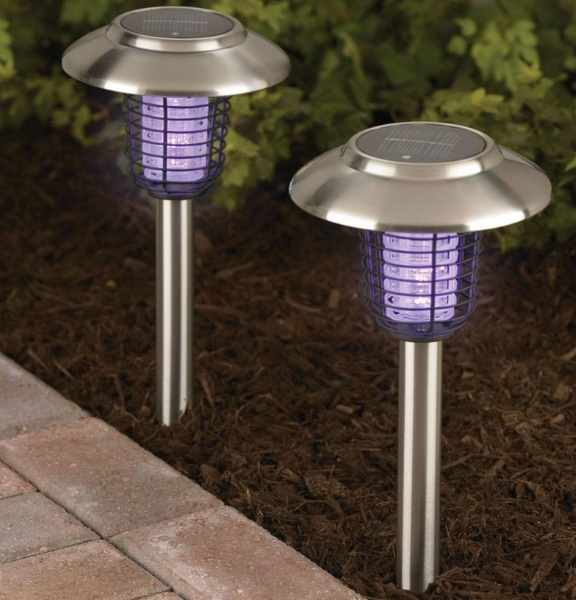 Solar Insect Zapper – say goodbye to outdoor party crashers