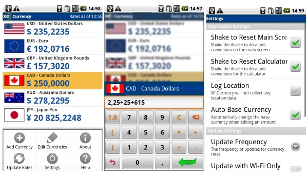 XE Currency App – keep exchange rates at your fingertips [FREEWARE]