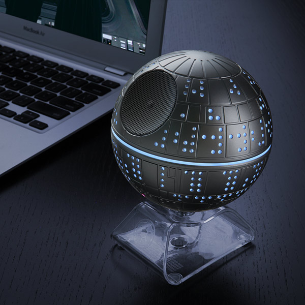 Death Star Bluetooth Speaker – come to the Dark Side, we have music