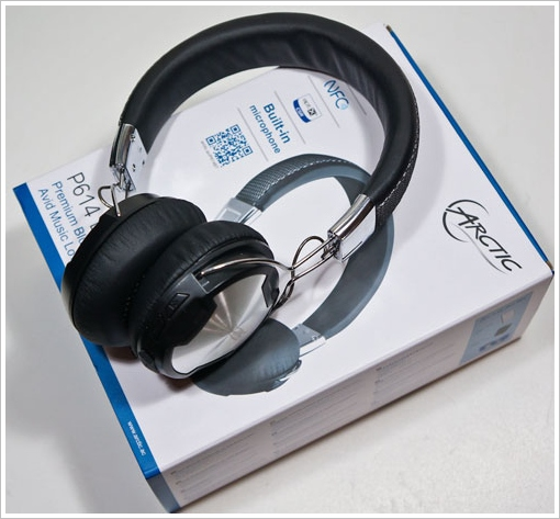 Arctic P614 BT Bluetooth Headphones – new budget wireless headphones come with superb sound quality and NFC [Review]
