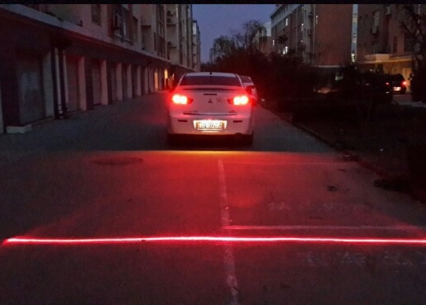 Anti Collision Rear-End Car Laser – draw a line on the road during bad weather