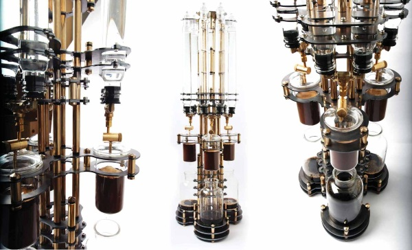 Steampunk coffee maker alt veiws