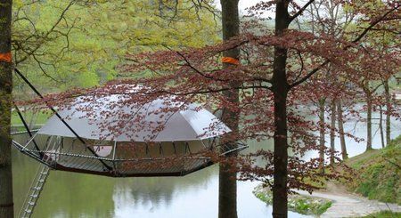 The Dom'Up Treehouse – good for the environment but tough on your wallet
