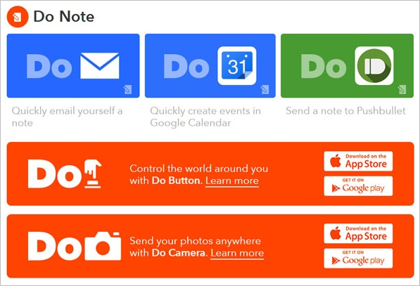 Do Tools from IFTTT – cool online service gives us some mobile tools to play with. But what a mess! Freeware]