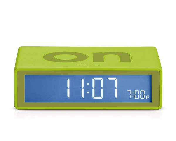 Lexon Flip On/Off Alarm Clock – an alarm clock for a more relaxed life