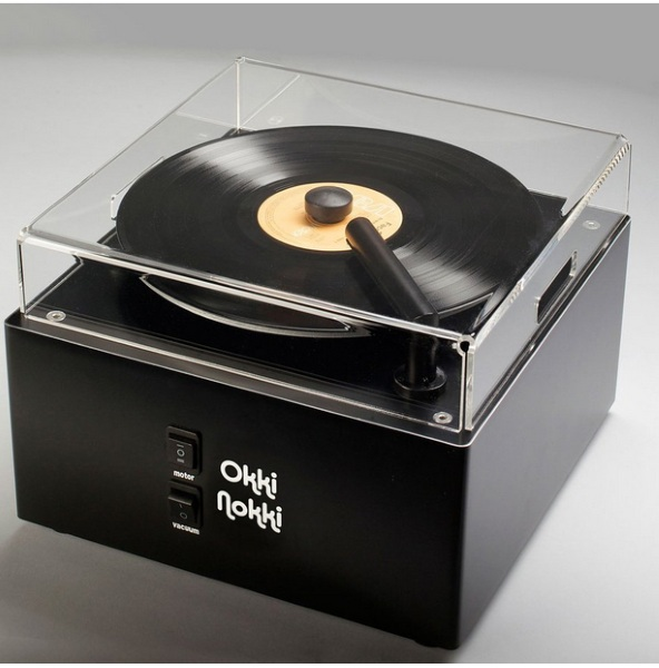 Okki Nokki Record Cleaning Machine – clean up old records and save timeless music