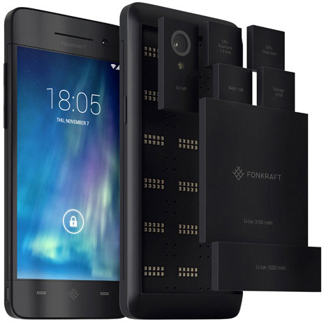 Fonkraft – the world's first crowdfunded modular smartphone, or a gigantic Austrian prank/scam?