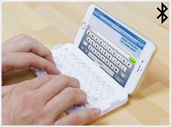 iPhone 6 Ultra Thin Keyboard – turn your new phone into a micro sized computer