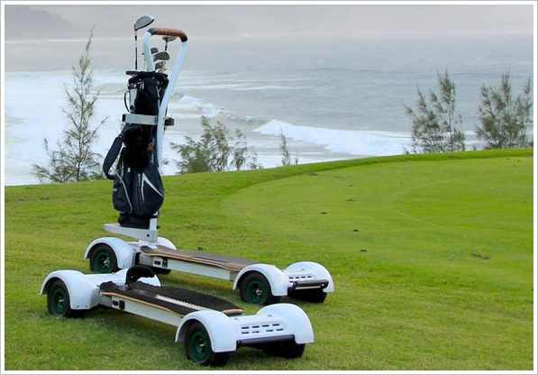 GolfBoard – surf your way down the fairway and be totally annoying too