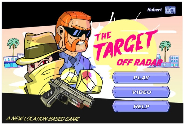 The Target : Off Radar – turn your city into a real time cops and robbers game with your phone