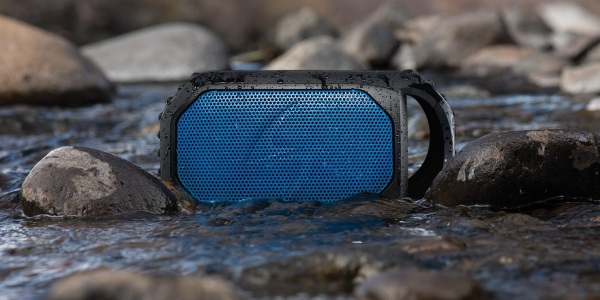 Ecostone – a Bluetooth speaker for a rough and tumble life