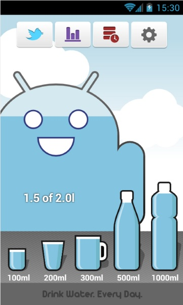 Carbodroid – drink water, stay alive [FREEWARE]