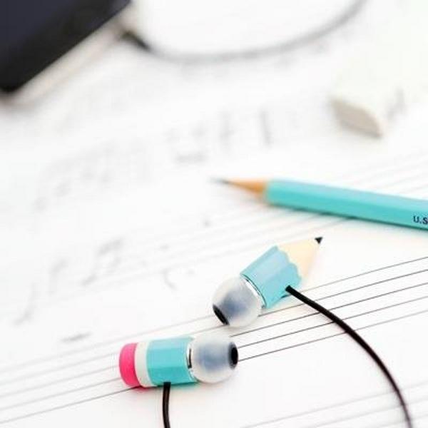 Magic Pencil Earphones – a set of earbuds good for a goof