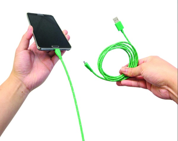 Everlasting Nylon Charging Cables – no more frayed charging cords