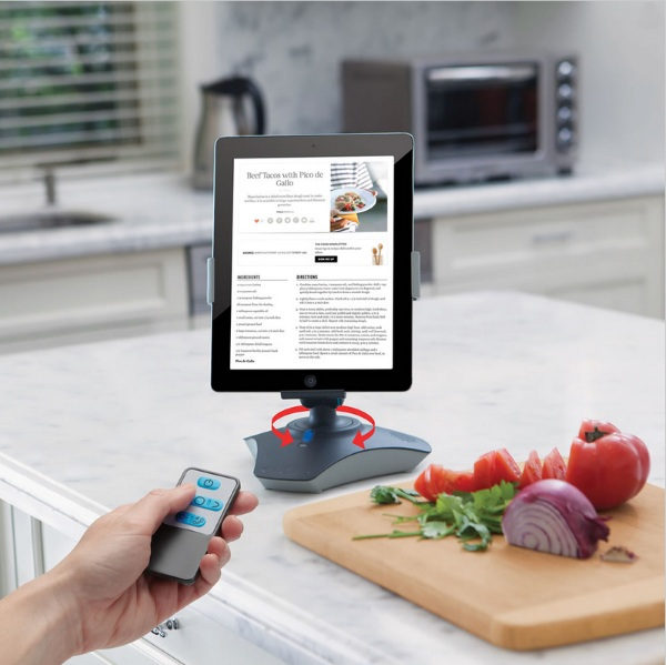 RC Rotating iPad Viewing Stand – a tablet stand that moves with you