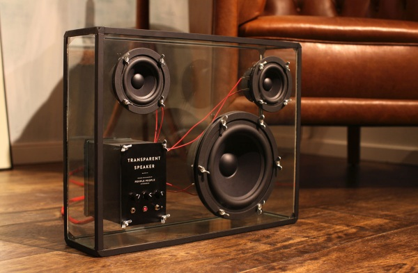Transparent Speaker – no extras, just sound