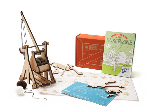 Tinker Crate inside