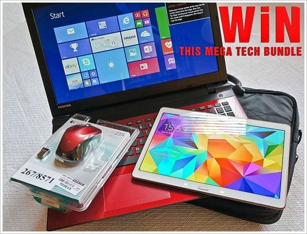 Red Ferret Mega Tech Bundle Giveaway Reminder – don't forget, if you don't enter you can't win! [UK Giveaway]