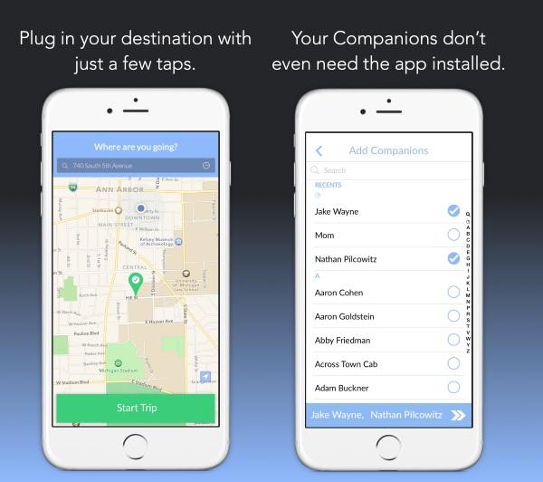 Companion – never walk home alone