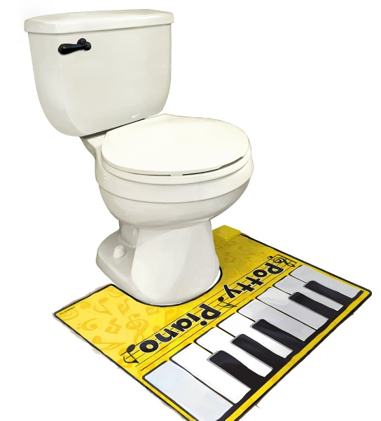 Potty Piano – a toe tapping good time