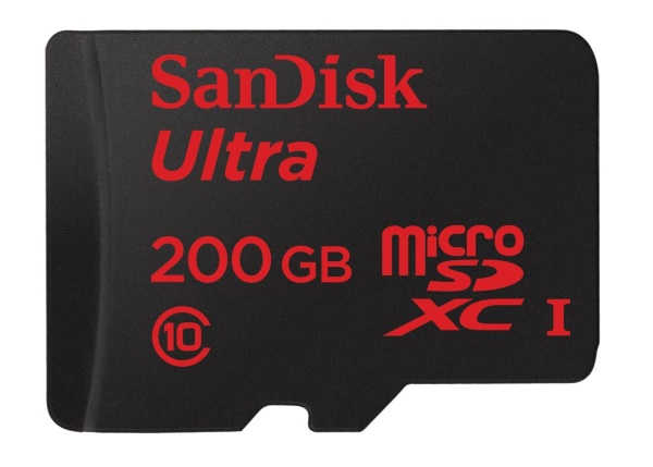 SanDisk 200 GB Micro SD Card