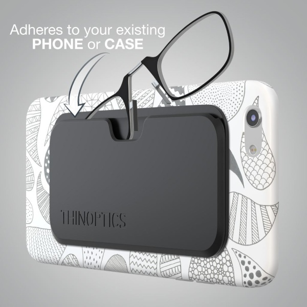 ThinOptics – keep your phone and glasses case together