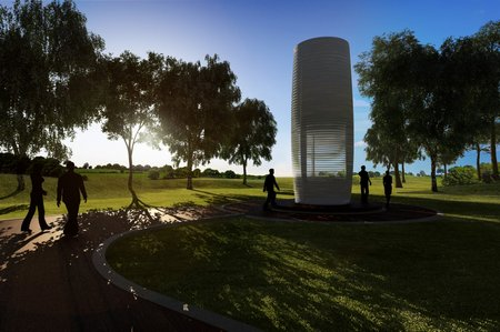 The Smog Free Tower could help clean the air in cities around the world