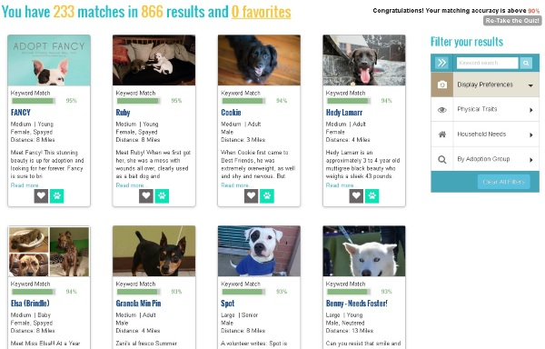 PawsLikeMe – find a new pet the smart way