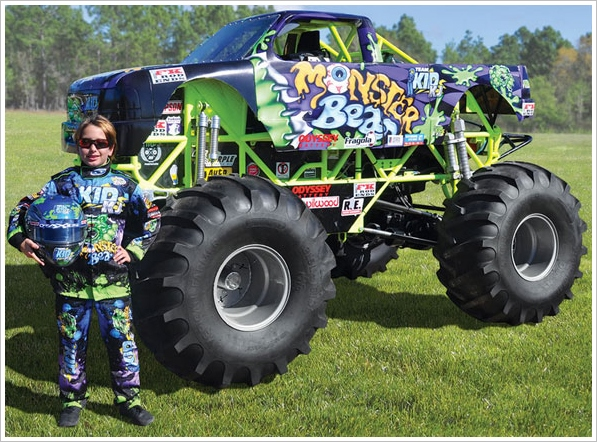 Mini Monster Truck – tread lightly and carry a stick shift