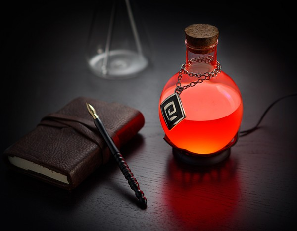LED Potion Desk Lamp – refuel your work mana