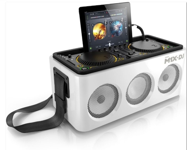 M1X-DJ Sound System – mix like a DJ even though you aren't