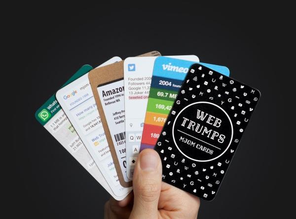 Web Trumps cards