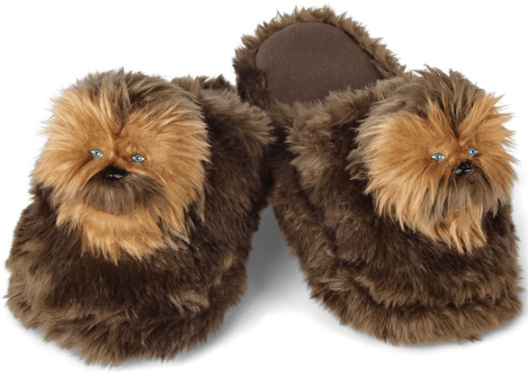 Chewbacca Slippers – unlock your fluffy side with this cute woo-key