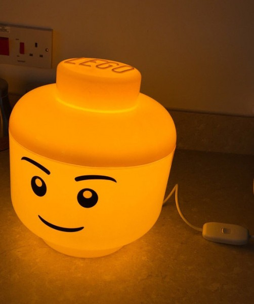 LED LEGO Lamp alone