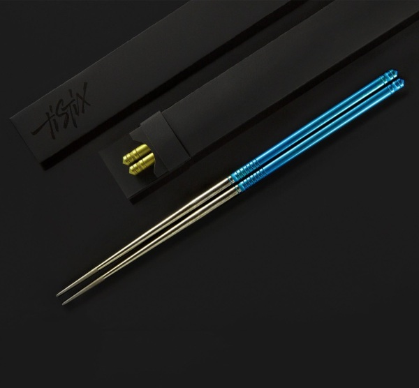 TiStix Titanium Chopsticks – serious chopsticks for serious eating