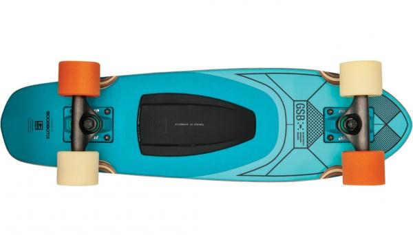 GLB-GSB Blazer – skateboard and sound system all in one