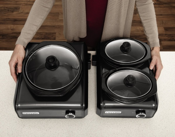 Hook Up Connectable Entertaining System – build a crock-pot buffet