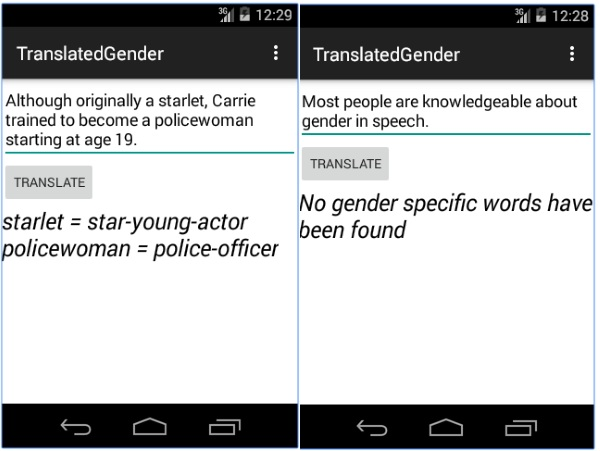 Translated Gender – the app to help you remove outdated terms from your lexicon